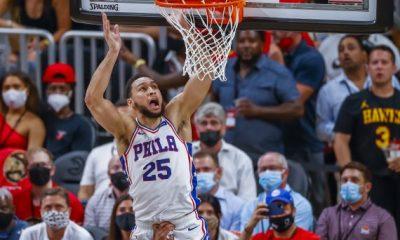 Ben Simmons pieni laitahyökkääjä Philadelphia 76ers