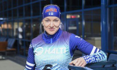 Anita Korva hiihtäjä