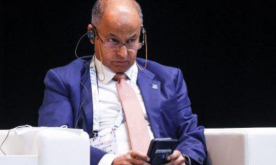 Husain Al-Musallam puheenjohtaja Kansainvälinen uintiliitto Fina